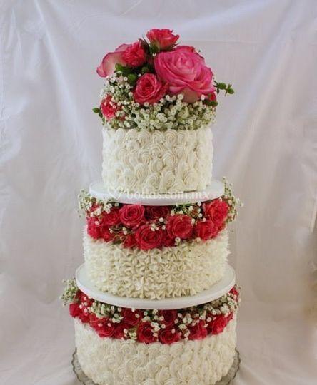 Pastel de novia
