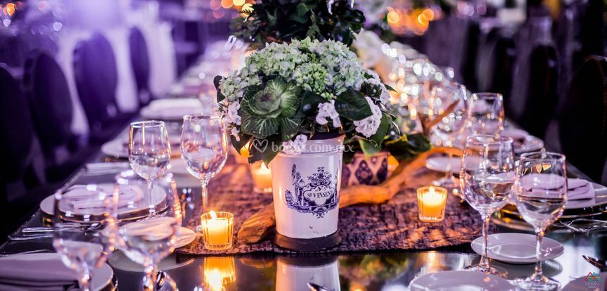 Mesa imperial boda