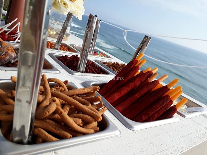Barra de snacks
