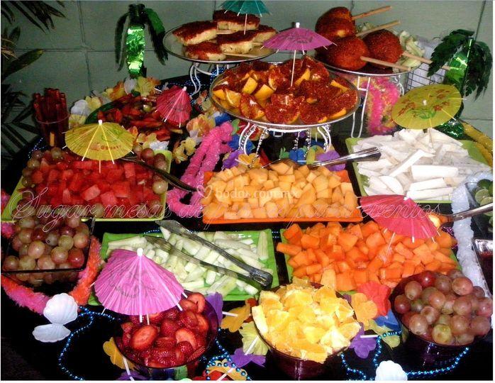 Deliciosa barra de frutas