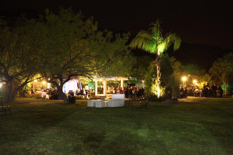 Quinta eucalipto la huasteca for Bodas en jardin en monterrey