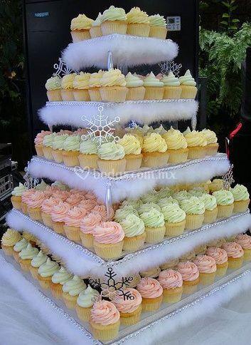 Muffins para boda