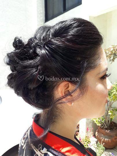 Peinado para dama