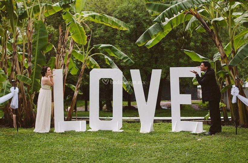 Besos de love