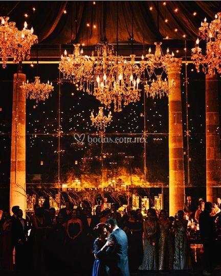 Montaje boda Alcázar