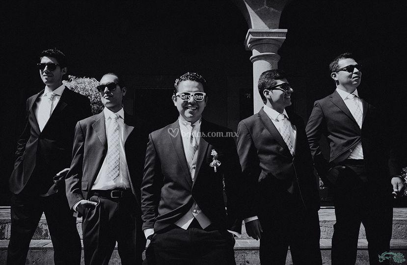 Groom boys