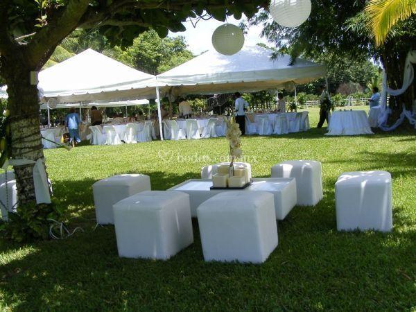 Los gajos for Ambientacion para bodas