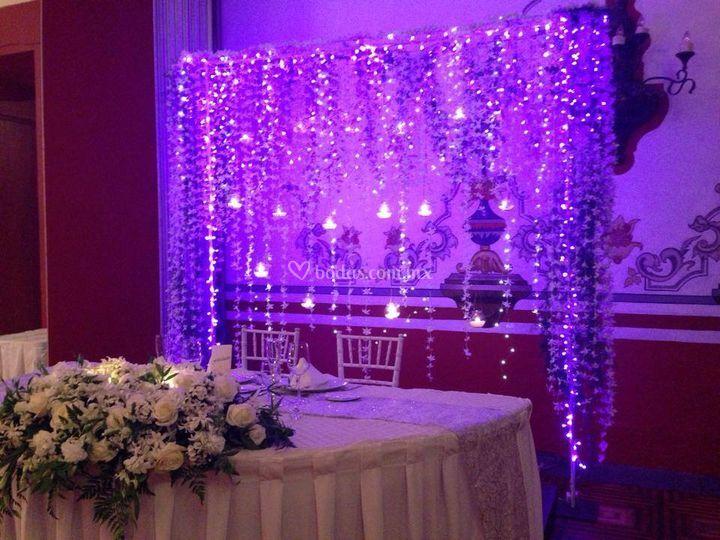 Cortina con led de tesssy boutique floral foto 25 - Cortina boutique ...