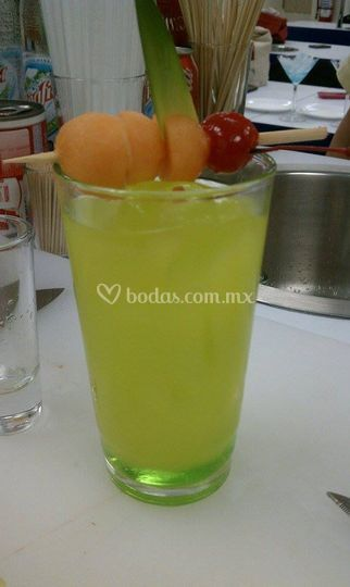 Melon summer cocktail