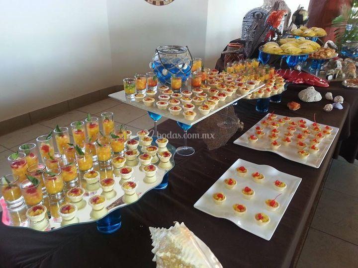 H ctor escobedo - Postres para mesa de dulces ...