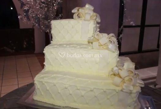 Pastel de bodas