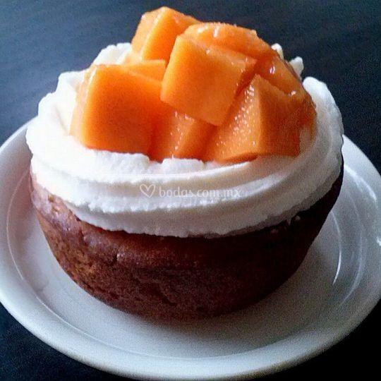 Cheesecupcake de mango
