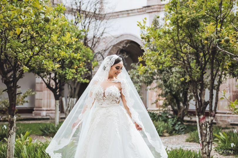 Bridal portrait · ana gaby