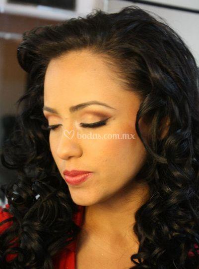Maquillaje balanceado