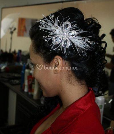 Peinado para la novia