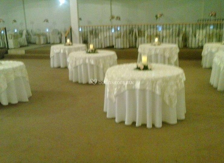 Presentaciòn de las mesas
