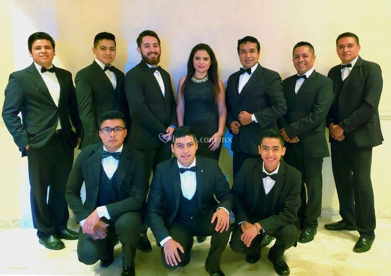 Integrantes de la orquesta