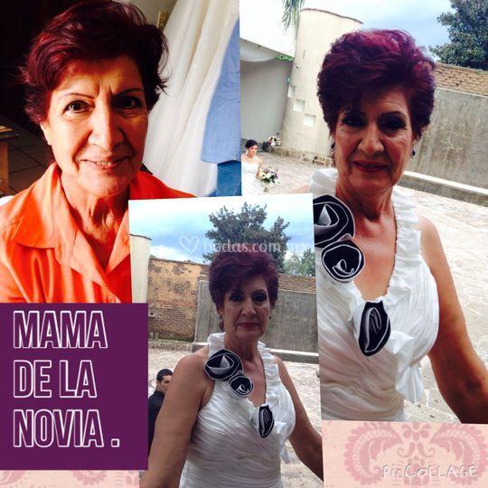 Mama de la novia Maquillaje
