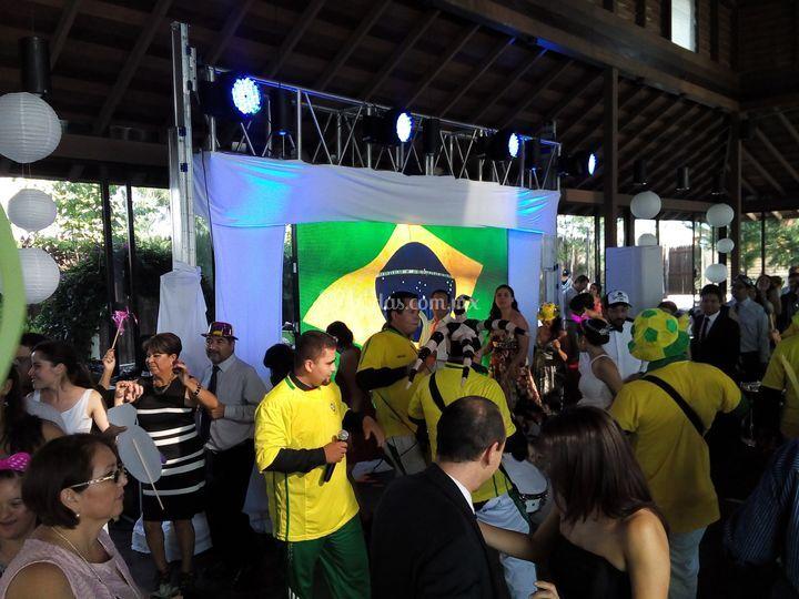 Batucada brasileña