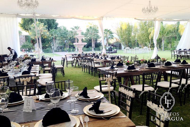 Catering Eventos La Fragua
