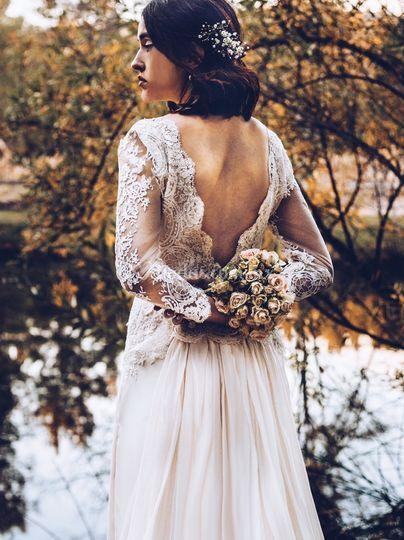 Vestido de novia sonia aroso