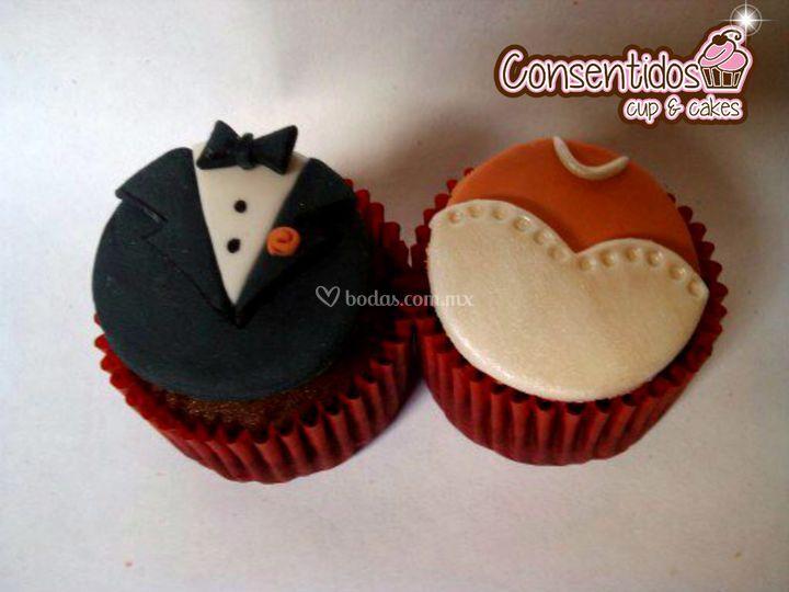 Cupcakes ideales para tu boda