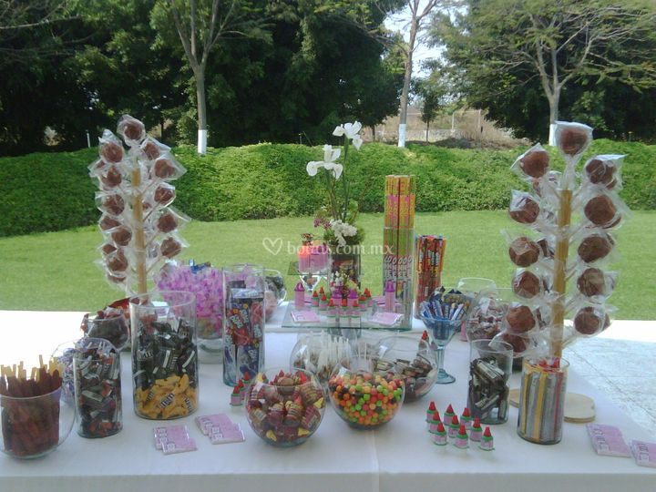 Candy bar - boda