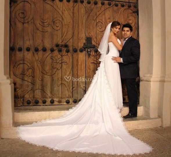Inmortalicen su boda