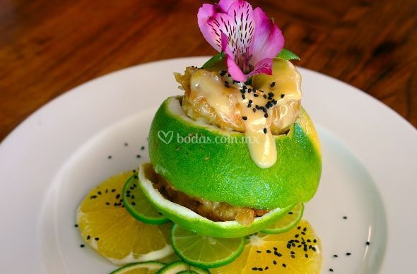 Camarones yushu