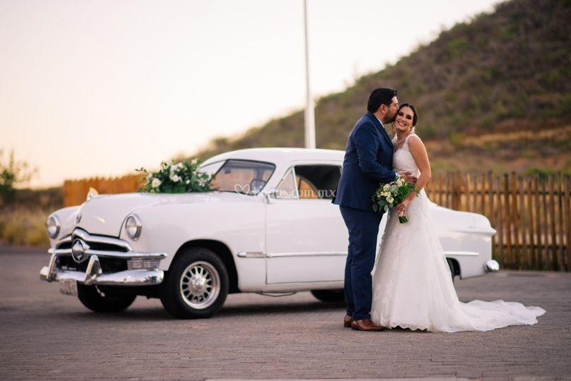 Sesión de foto en boda A & P
