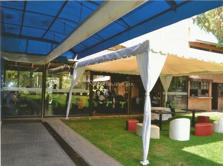 Sala lounge jardin