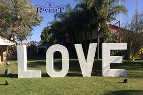 Rivert Events - Letras Gigantes