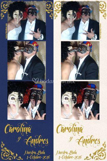 Boda Carolina y Andres