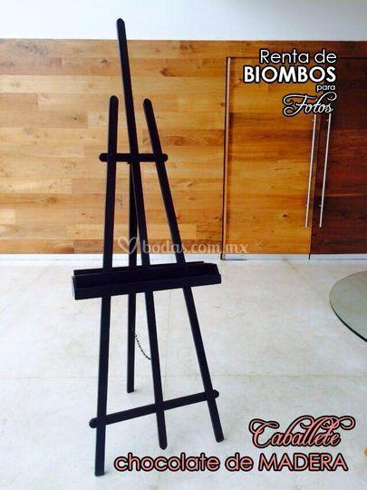 Caballete madera chocolate de biombos para fotos foto 7 - Fotos de biombos ...