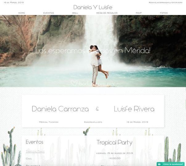 Website boda