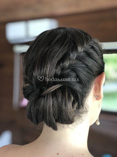 Peinado dama
