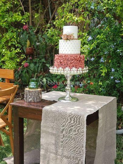 El pastel perfecto!