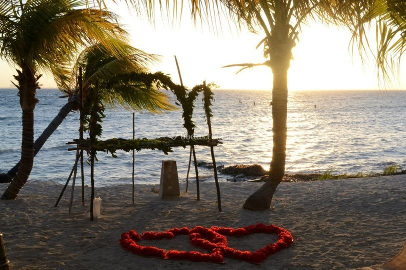 Boda Maya en Isla Mujeres