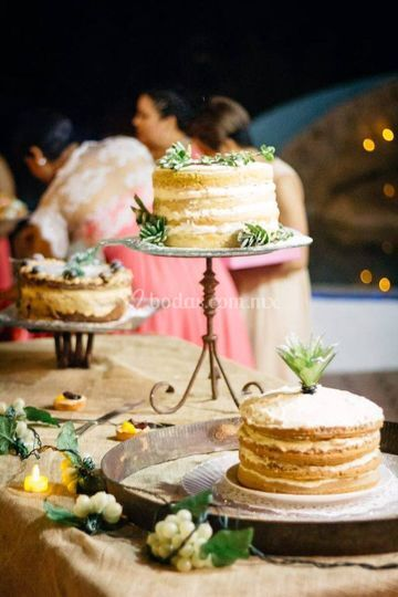 Mesas de pasteles