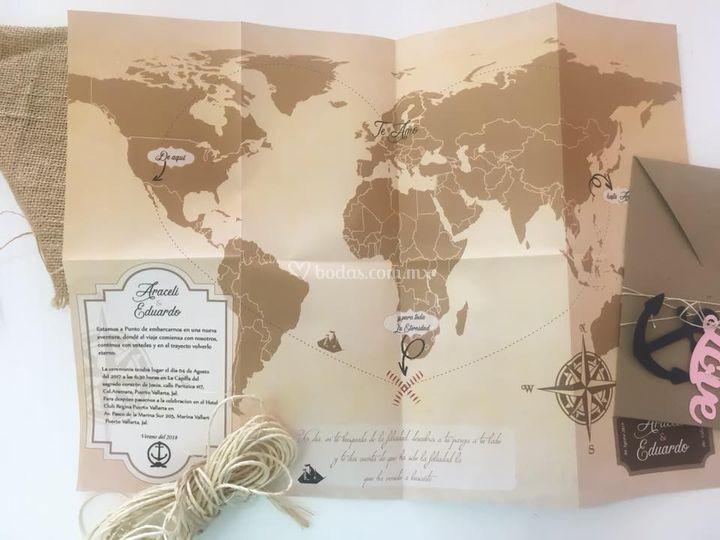Invitación maps