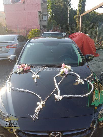 Arreglo de carro plata