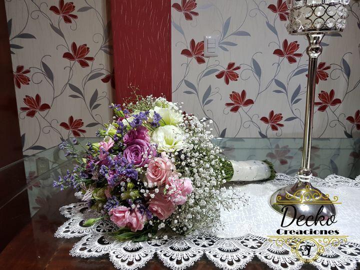 Bouquet de novia oro