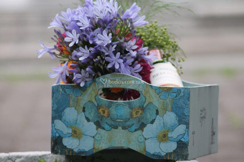 Feeling Blue Bouquet