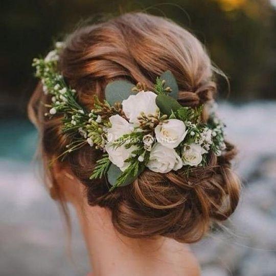 Hermosos peinados para su boda