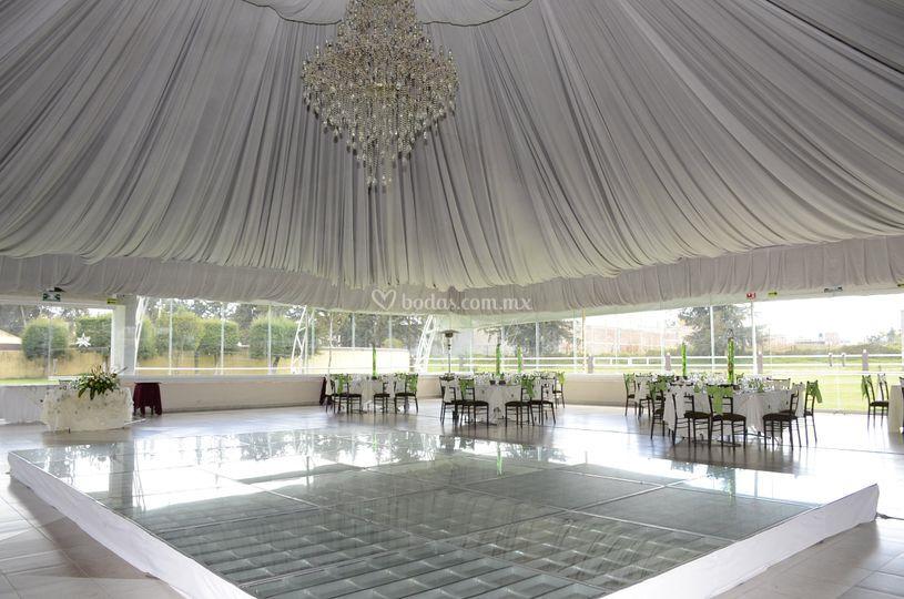 Villa charra de toluca for Salon jardin villa esmeralda tultitlan