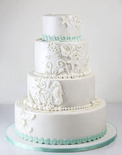 Pastel de bodas Marino