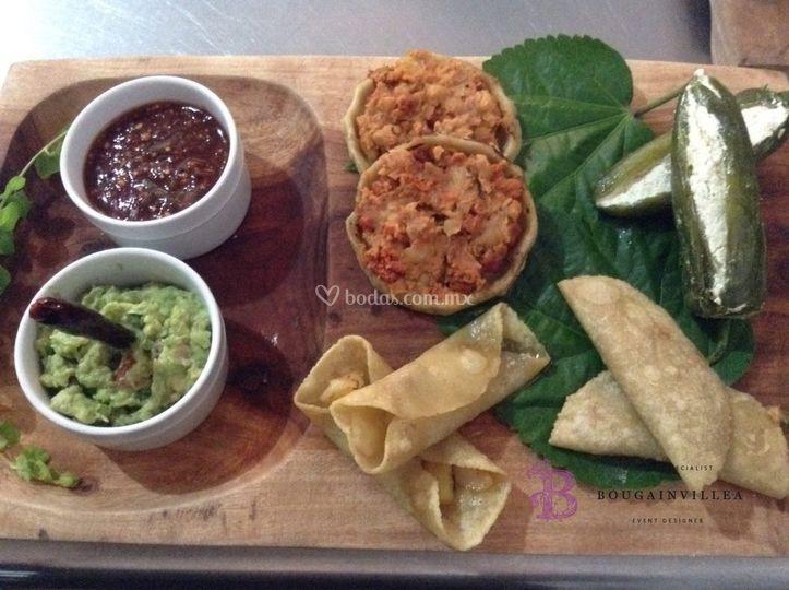 Comida mexicana en San Miguel