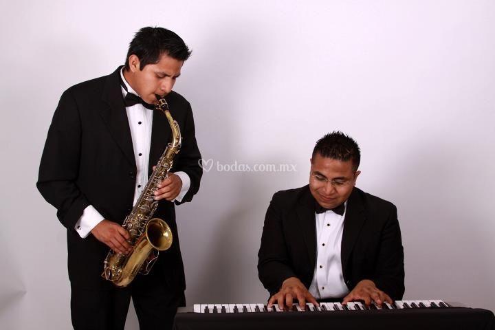 Dueto piano- sax