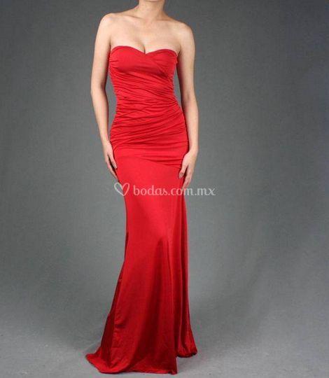 Elegancia en rojo