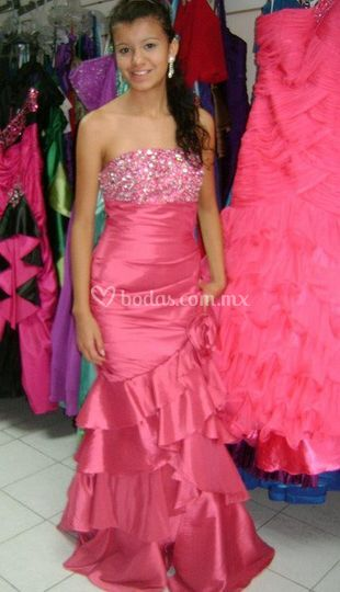 Elegancia en rosa